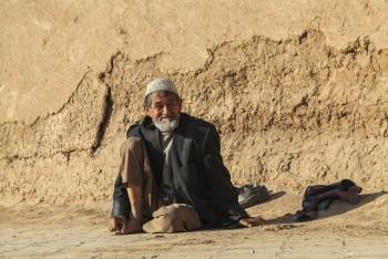 Viel homme – Kashan, Iran