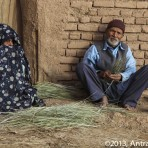 Couple – Désert du Dasht-e-Kavir, oasis de Garmeh, Iran