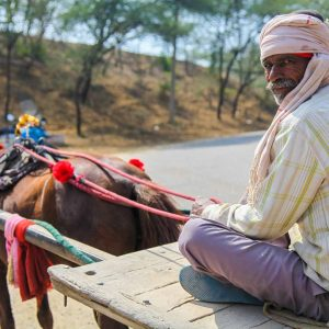 Livreur – Jaipur, Inde