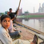 Jeune garçon – Taj Mahal, Agra, Inde