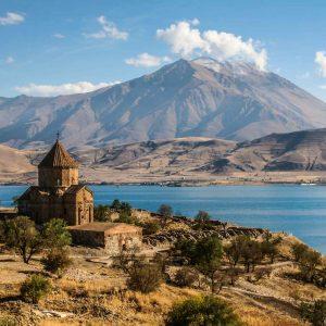 Akhtamar, lac de Van, Turquie