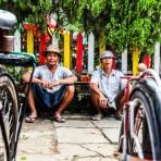 conducteur de trickshaws – Birmanie